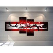 Quadros Abstratos Decorativo  Grande 189cm Lindo Sala escritório