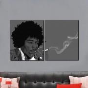 Quadros decorativo Jimi Hendrix M2