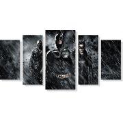 Quadros Decorativos Batman 5 peças