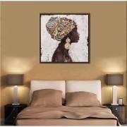 Quadros Decorativos Beleza Da Mulher Africana