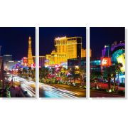 Quadros Decorativos De Las Vegas 3 peças