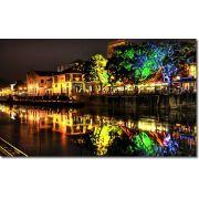 Quadros Decorativos Luzes da Cidade 1 peça