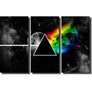 Quadros Decorativos Pink Floyd 3 peças