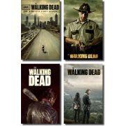 Quadros Decorativos The Walking Dead 4 peças