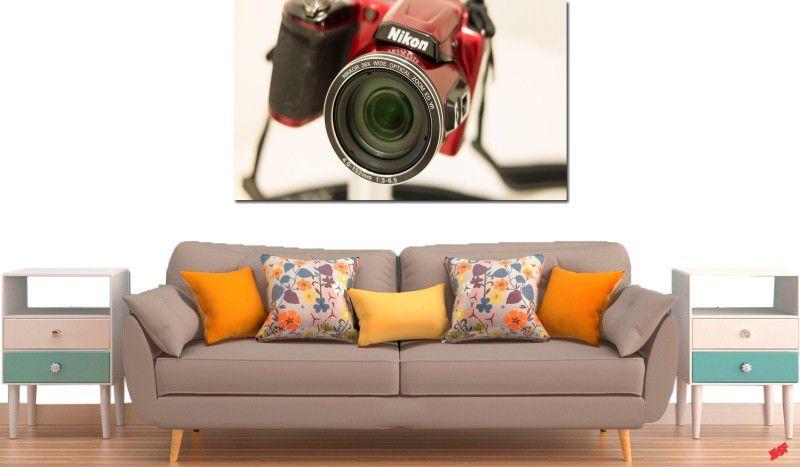 Quadro decorativo para quarto e sala maquina fotográfica nikon 1 peça