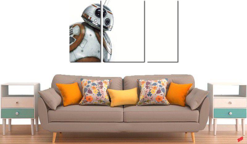 Quadro decorativo star wars meer para quartos e salas 3 peças