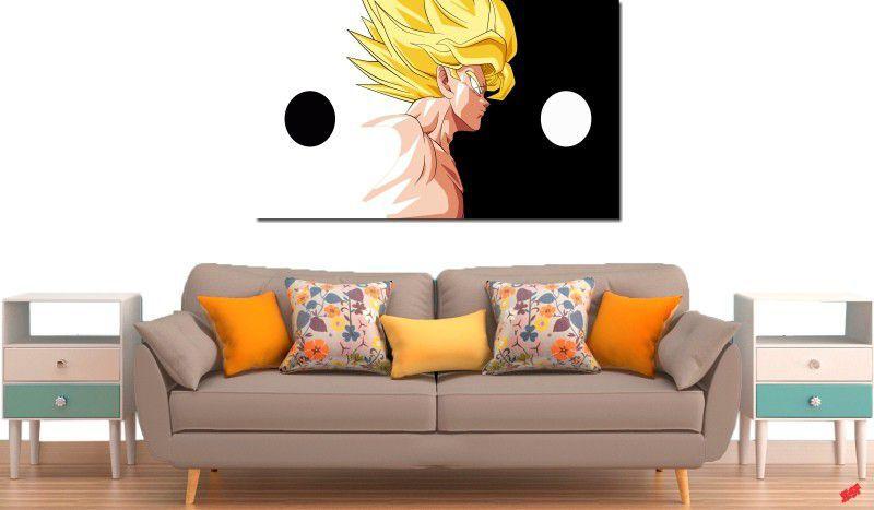 Quadro Decorativo Dragon Ball  Z Goku Super Sayajin  1 peça m10
