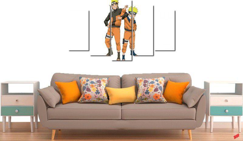Quadro decorativo para quartos e salas do naruto 5 peças