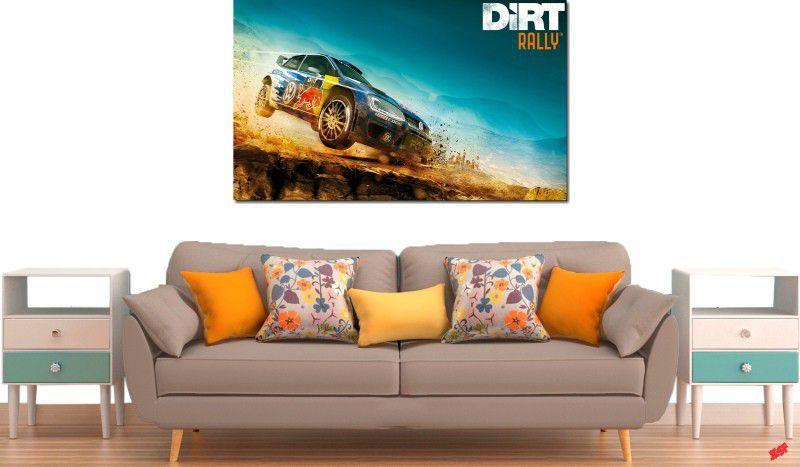 Quadro decorativos paisagem de carro para quarto e sala 1 peça