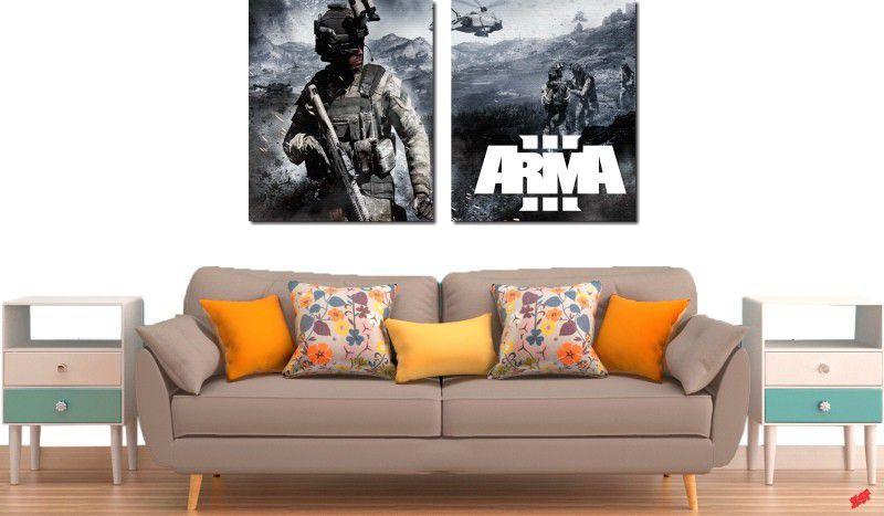 Quadros decorativo para quarto e sala jogo game 2 peças