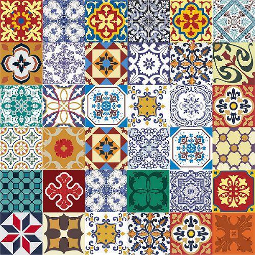 Azulejos Adesivo Decorativos Kit 36 Unidades