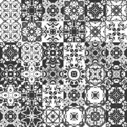 Adesivos hidráulicos Preto e Branco - Loja de quadros decorativos-Arte Quadro
