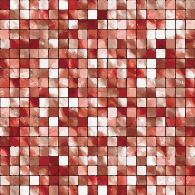 Pastilha Adesiva em vermelho
