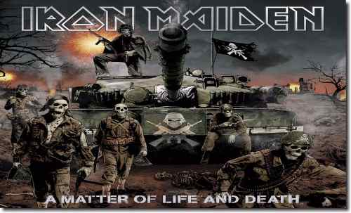 Quadro Decorativo Banda Iron Maiden 1 Peça