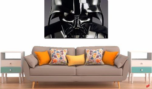 Quadro Decorativo Star Wars Darth Vader 1 Peça