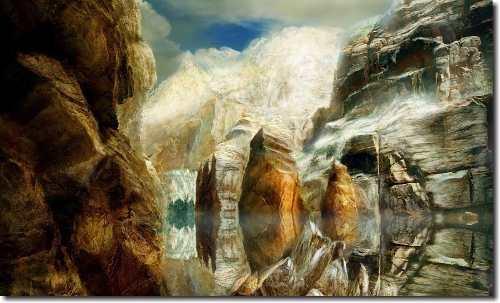 Quadro Decorativo Paisagem Montanha 1 Peça