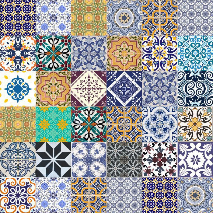 Azulejos Hidráulico Amsterdã