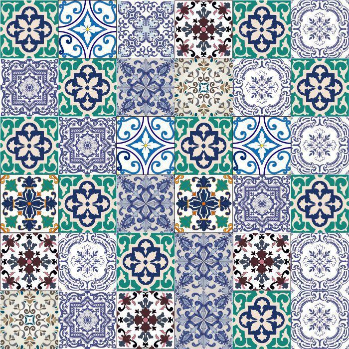 Azulejos Hidráulico Versalhes