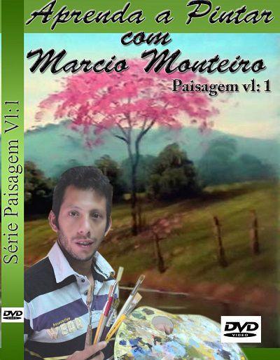 AULA DE PINTURA EM TELA -DVD VL.1 PAISAGEM