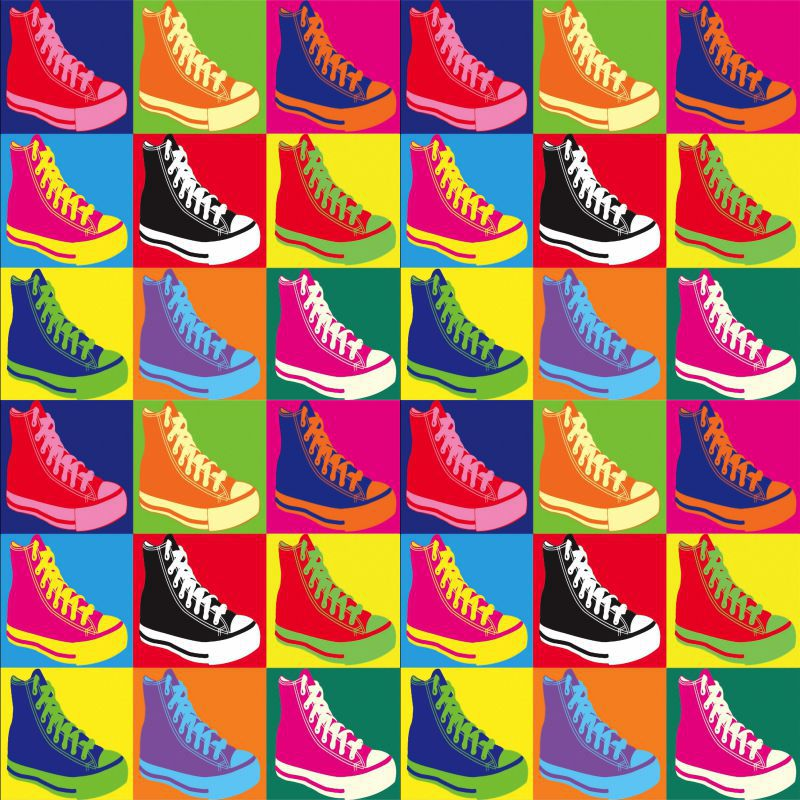 Azulejos de Adesivos Pop Art All Star