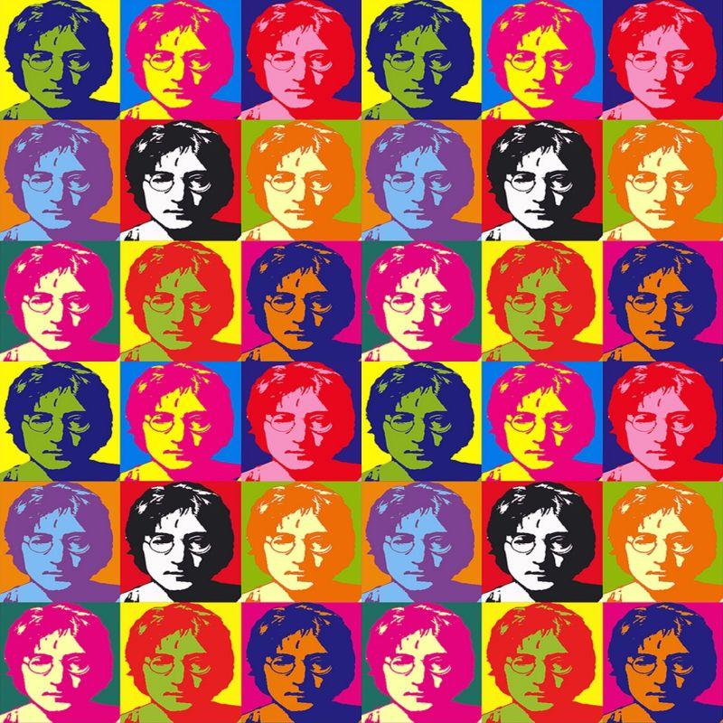 Azulejos de Adesivos John Lennon Pop Art