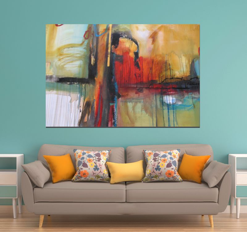 Quadro Abstrato sala