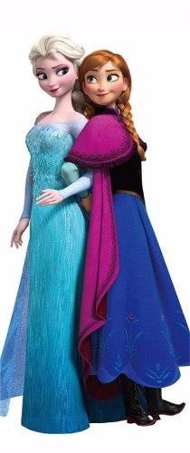 Adesivo Porta Frozen Elsa Ana