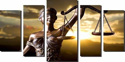 Quadro Decorativo Advocacia Deusa Themis Para Sala