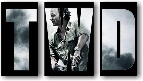Quadro Decorativo The Walking Dead 3 Peças Para Quarto ,sala