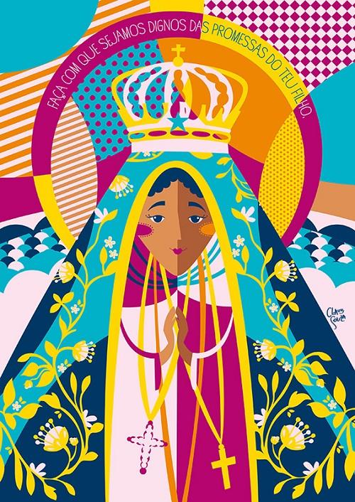 Pôster Nossa Senhora da Aparecida