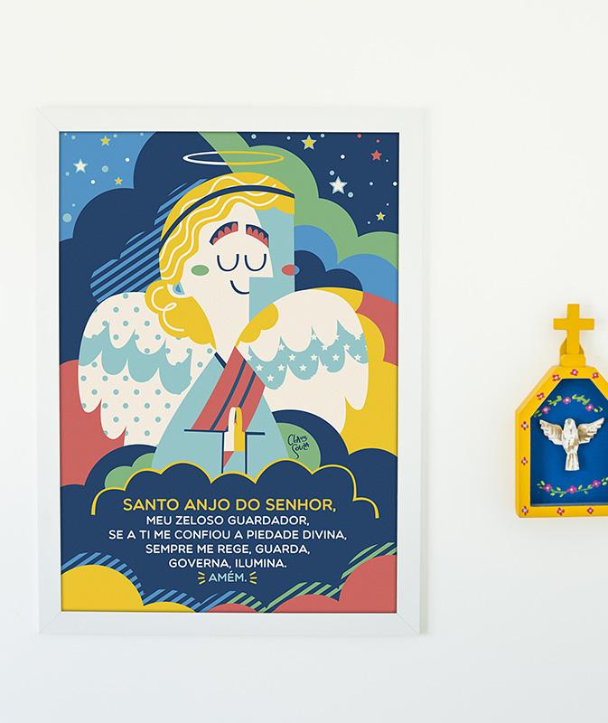 Pôster Santo Anjo