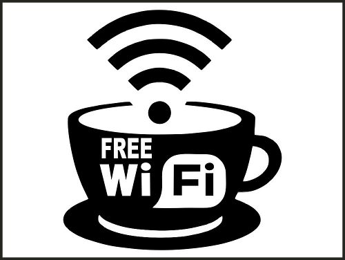 Adesivo Wifi Wireless Para Ambientes Com Rede Wifi