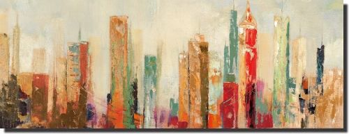 Quadro Abstrato Sala Mais Barato 30x80