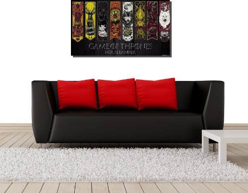 Quadro Decorativo Serie Game Of Thrones Para Sala