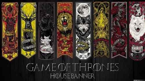 Quadro Decorativo Serie Game Of Thrones Para Sala