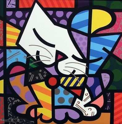 Quadro Romero Britto - Cat 80x70
