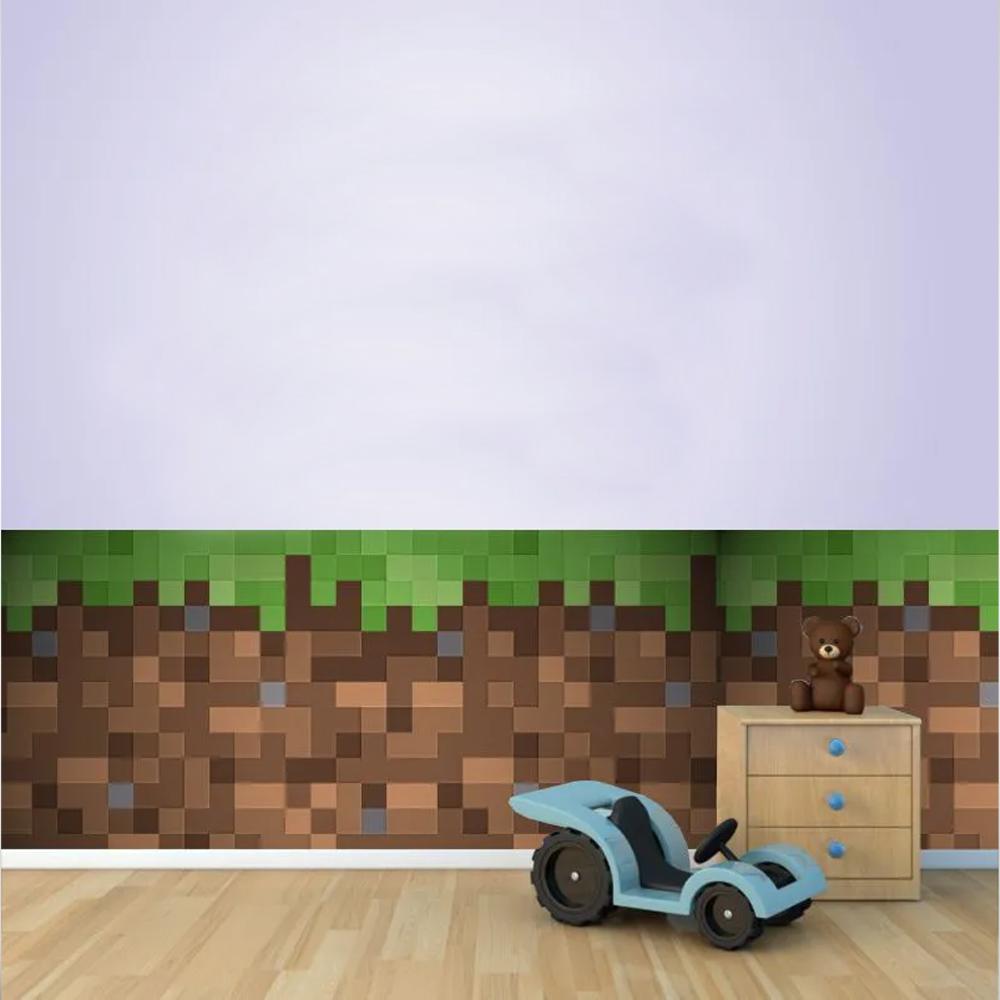 Adesivo Decorativo Parede Minecraft