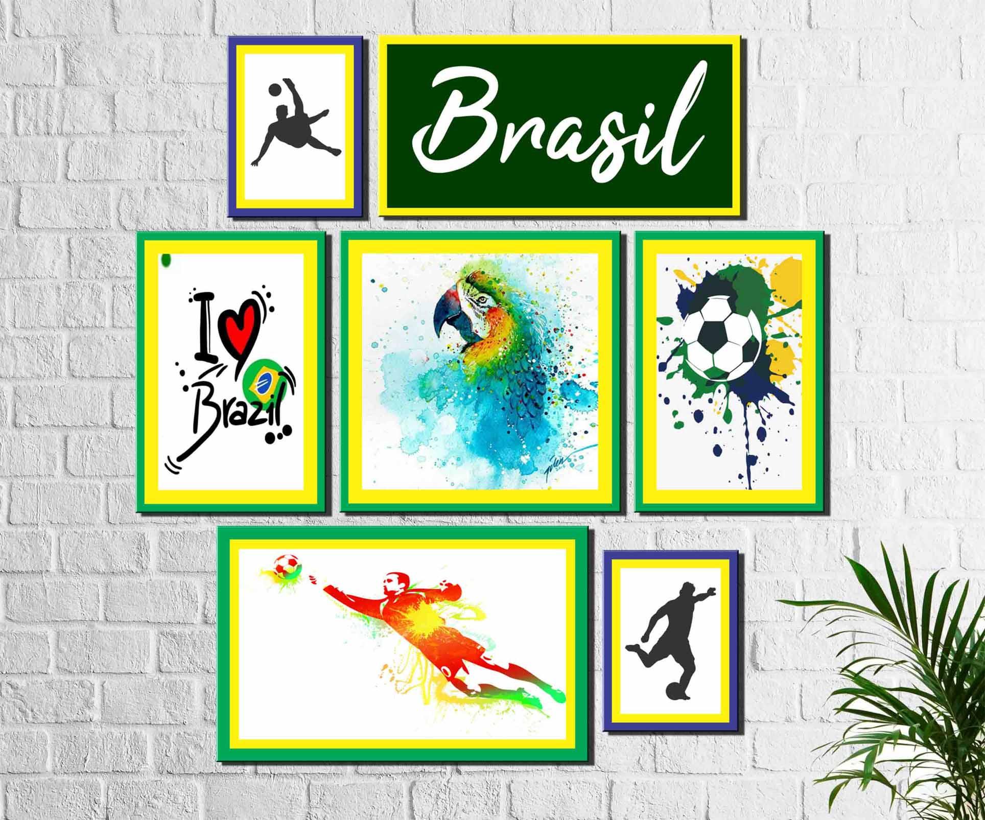 eca25989f9 Quadros Decorativos Adesivos e papel de parede - Arte Quadro
