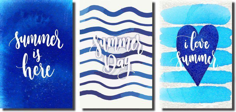 Kit Quadrinhos Decorativos Verão 3 peças