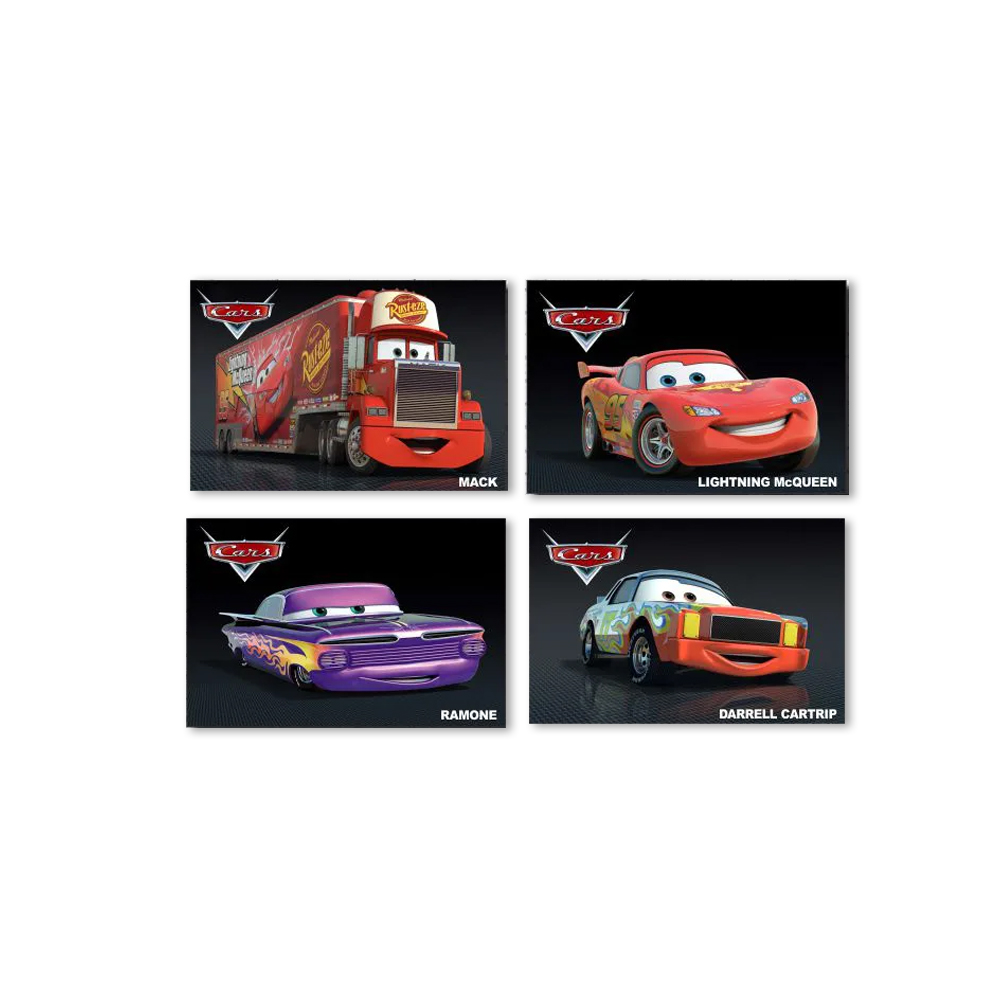 Kit Quadros Carros Disney