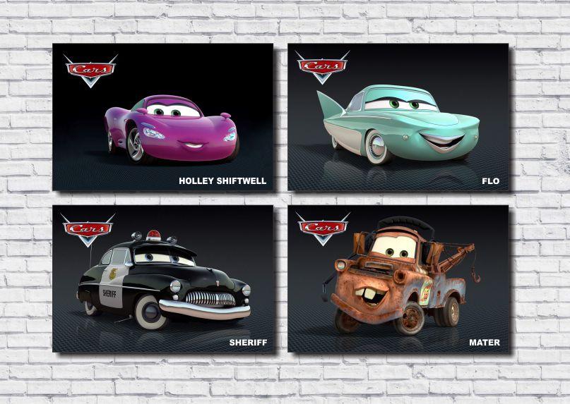 Kit Quadros Carros Disney M2