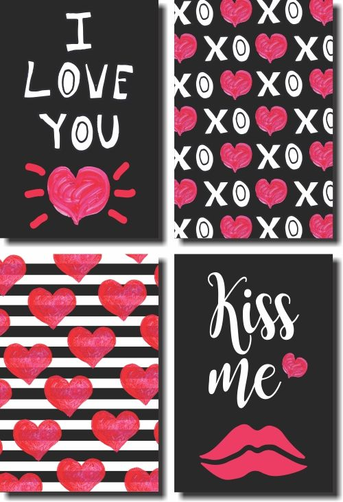 Kit Quadros Decorativos  De Amor Para Quarto