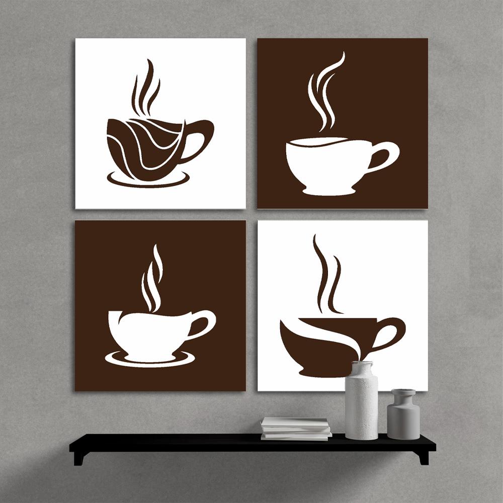 Kit Quadros Decorativos Hora Do Café