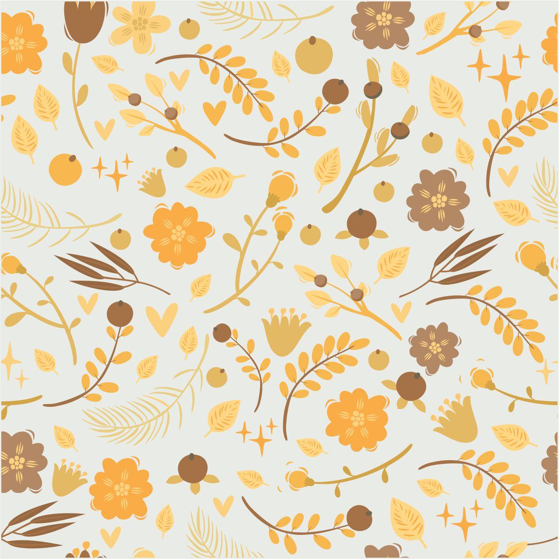 Papel de Parede Folhas Caindo Rolo de 0,60 x 3,00