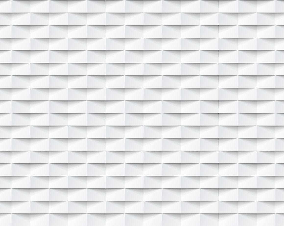 Papel Parede 3D  geométrico branco e cinza  Autocolante