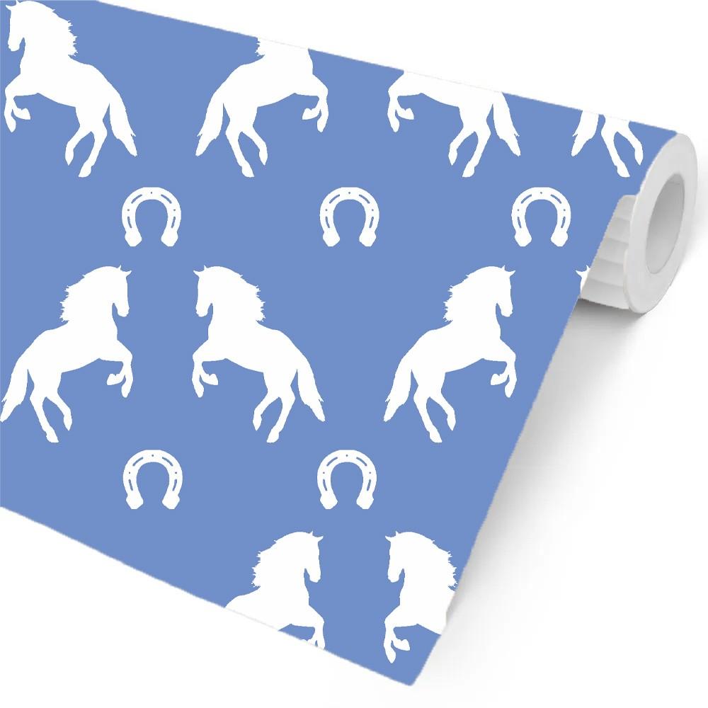 papel parede cavalo branco