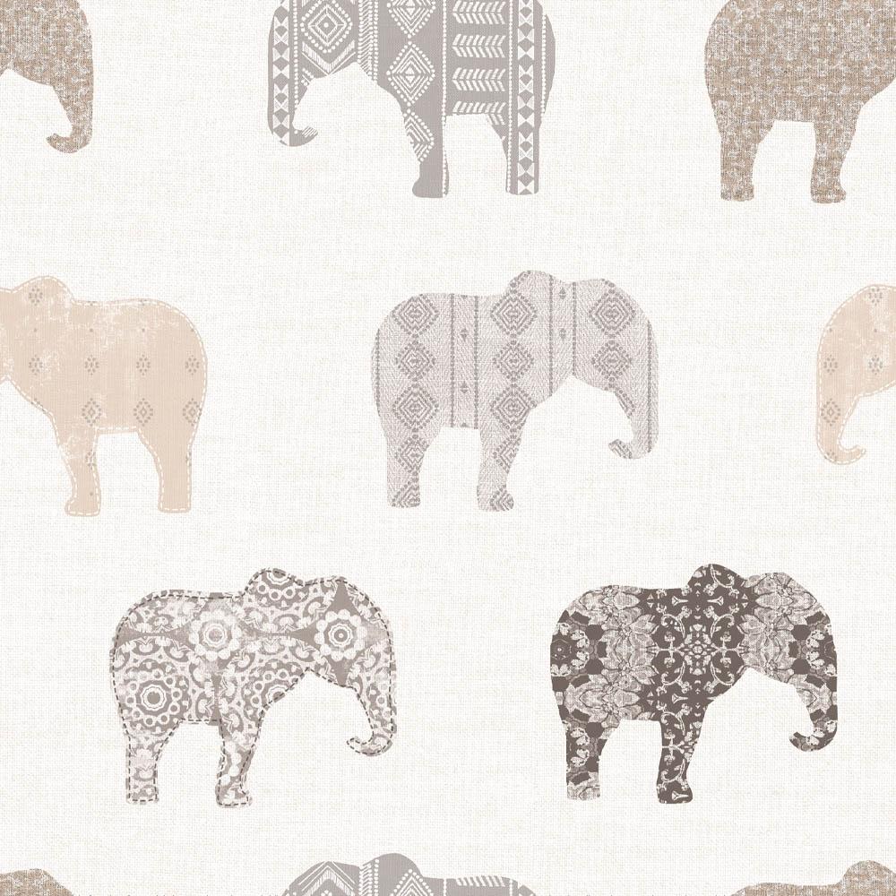 Pepel de Parede Elefante 3D Para Sala