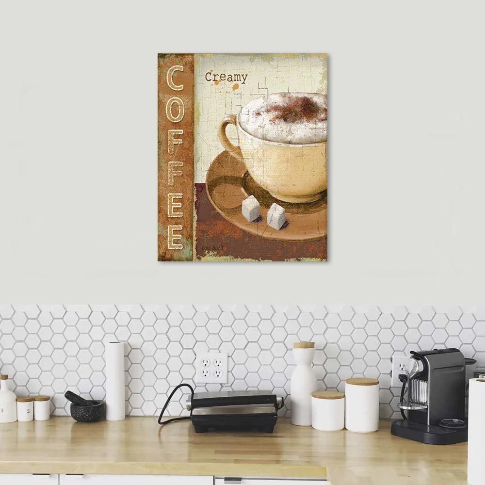 Quadro Cozinha Xícara Café