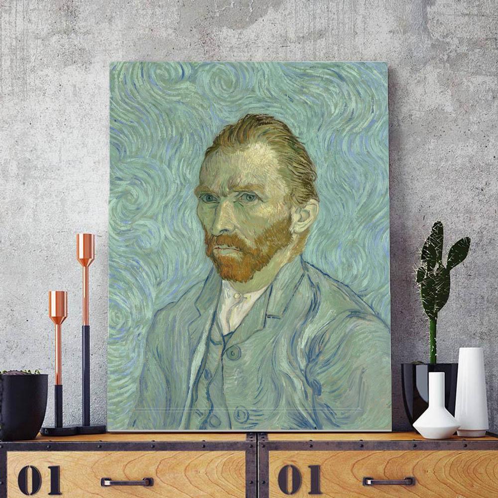 Quadro  Decorativo Auto Retrato Van Gogh