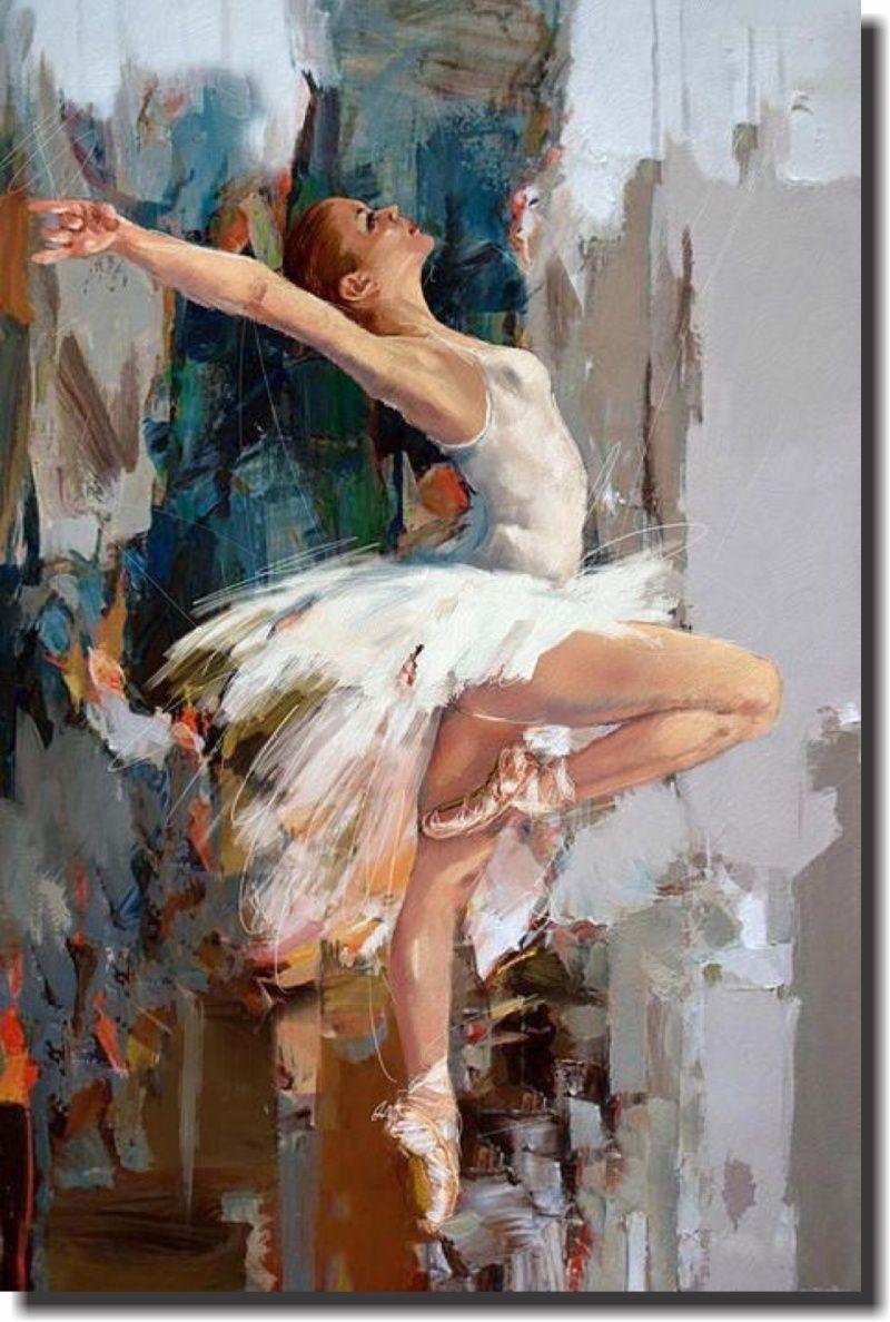 Quadro Decorativo Bailarina 1 peça m2